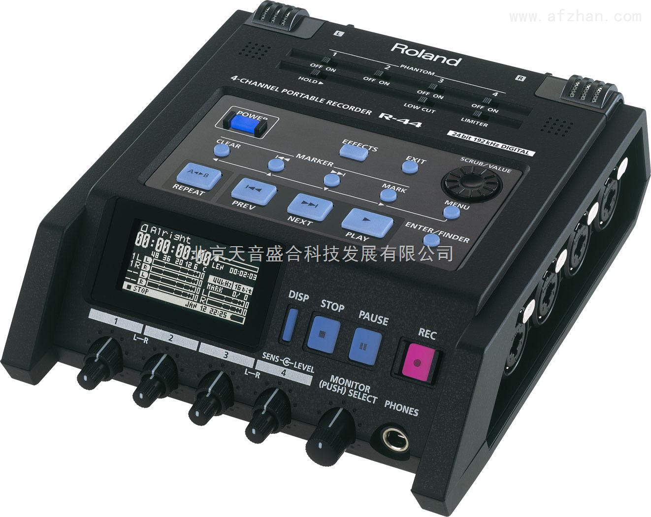 r-44 roland罗兰r44 4路便携数字录音机