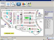 沈阳辽宁吉林车位引导系统 停车场软件 区域引导系统 停车引导系统 车位引导屏