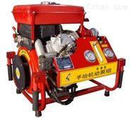 3C认证电启动柴油机手抬机动消防泵BJ18-C  旋片真空泵引水