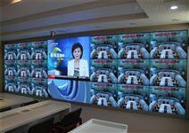 监控设备高端室内全彩LED显示屏安装调试价格