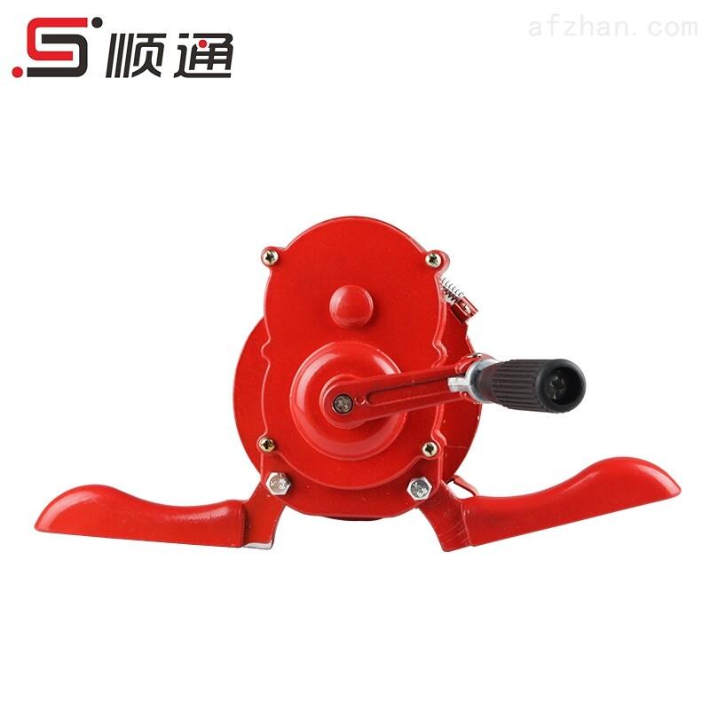 浙江顺通厂家直销便携式手摇警报器消防器材,手摇报警