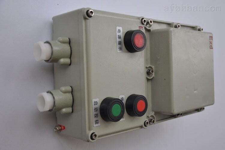 内装交流接触器,热继电器,自复位万能转换开关,以及控制按钮,带总