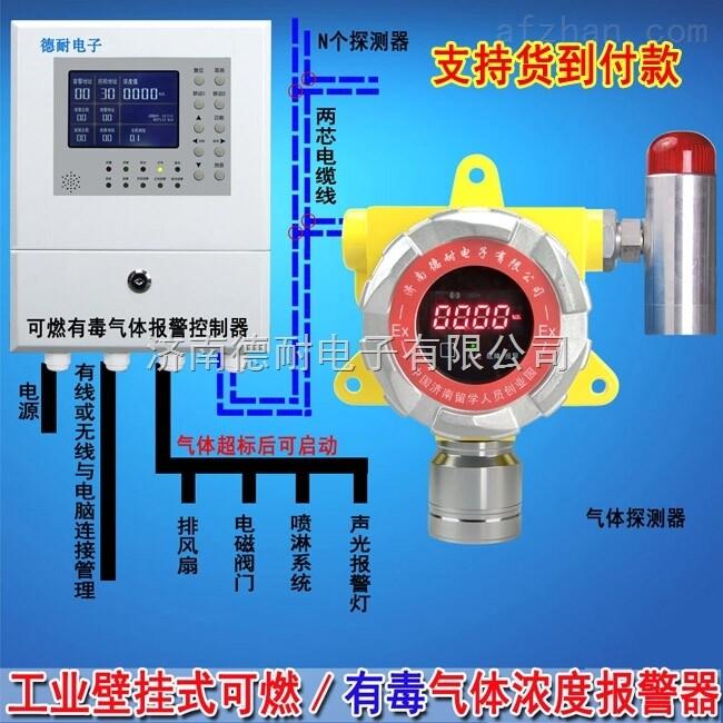 气体探测仪安装接线图