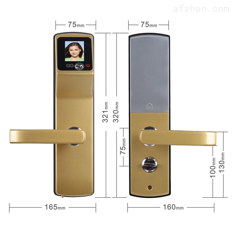 人脸识别锁 智能门锁防盗门密码锁 智能家居门锁 单元门电控锁