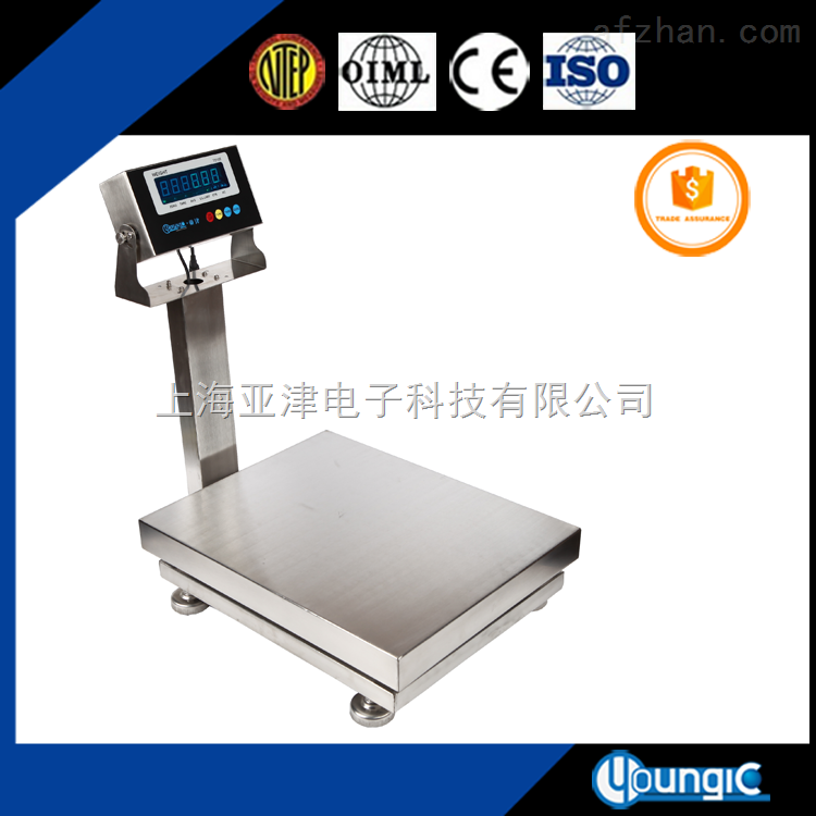 电子台秤60kg防水秤TCS-150kg防水电子台秤