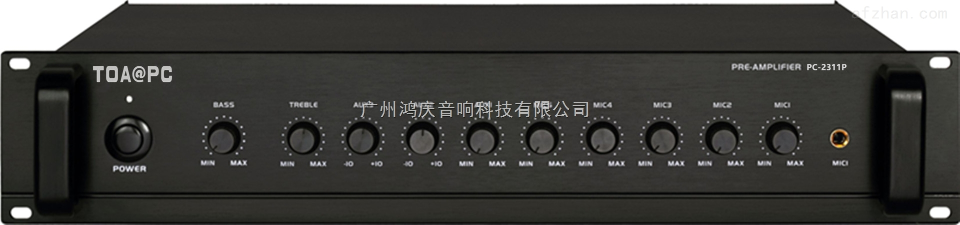 PC-2311P公共广播前置放大器