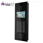 高档小区围墙机和单元门口机门禁主机 独栋别墅专用数字对讲呼叫系统