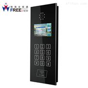 门禁视频监控系统 智能数字呼叫主机 可视楼宇对讲门禁系统