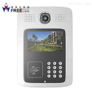 WIFI无线手机可视门铃对讲网络远程监控开锁别墅家用防盗高清录像