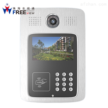 智慧社区门禁主机 楼宇可视对讲系统方案 可视楼宇对讲系统多媒体门口机液晶显示屏