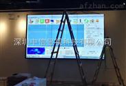 大屏幕液晶拼接屏|厦门三星46寸液晶拼接墙工程完美