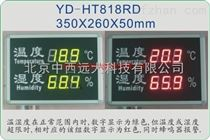 雙色報警溫濕度顯示屏