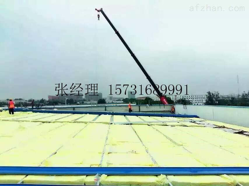 天津钢结构屋顶离心玻璃棉卷毡生产厂家