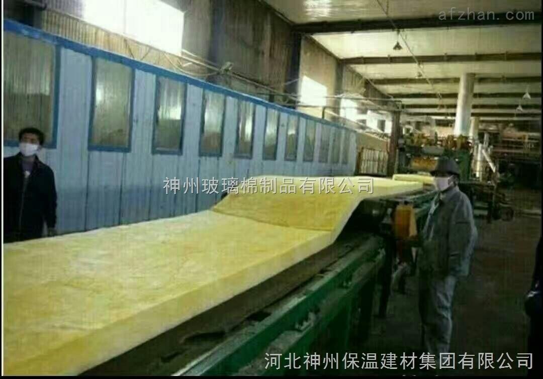 70厚玻璃棉毡 耐高温玻璃丝棉纤维棉