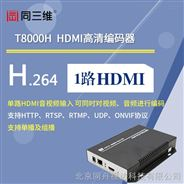 高清HDMI编码器(同三维T8000H) HDMI音视频采集卡 HDMI采集盒