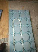 超导热地暖模块功能特点,地暖专用20槽模块