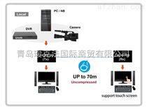 4K2K键盘鼠标超高画质多媒体延长器