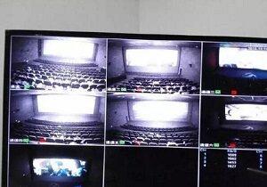 影院视频监控不是秘密 夜视之下犹如白昼