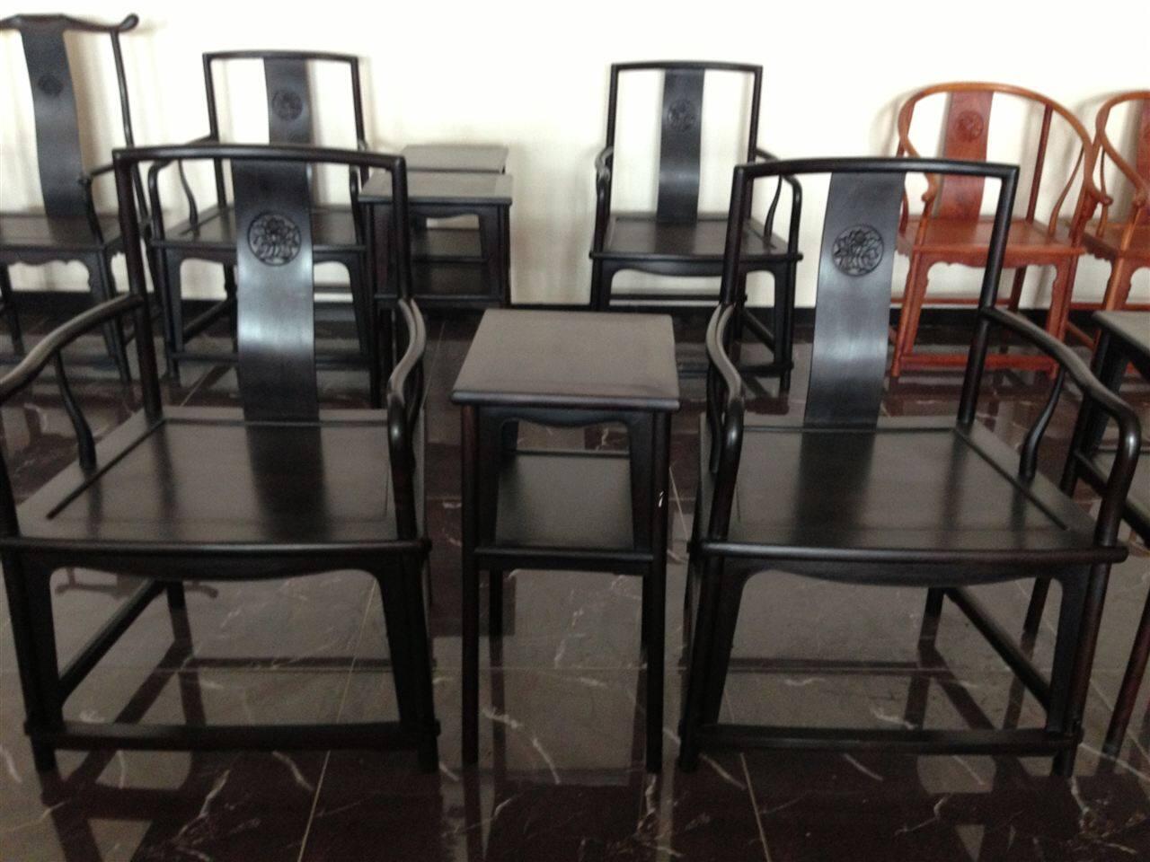 扇面椅-扇面椅-大城县嘉和红木家具有限公司