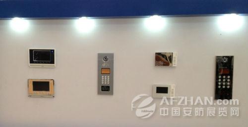 索迪电子楼宇对讲产品闪耀天津安博会