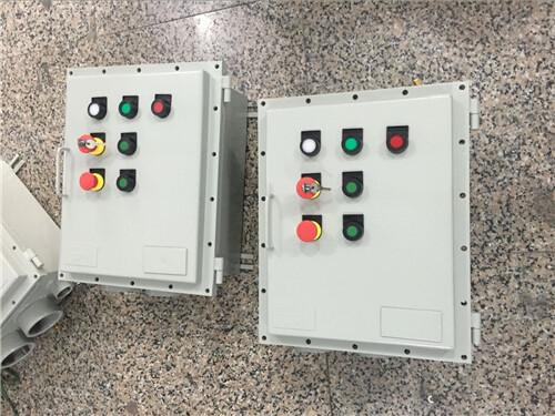 5kw水泵防爆控制箱在电路中作远距离操作电磁或对信号,控制用电路进行