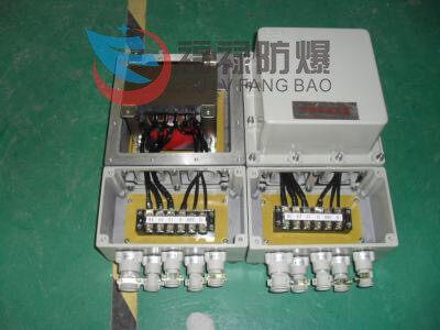 防爆电器 防爆电磁启动器 >bqc电机正反转防爆磁力配电箱   一,产品