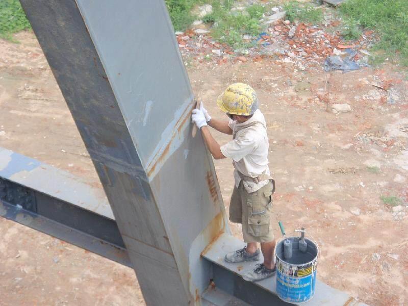 钢结构防火涂料,饰面型钢结构阻燃漆