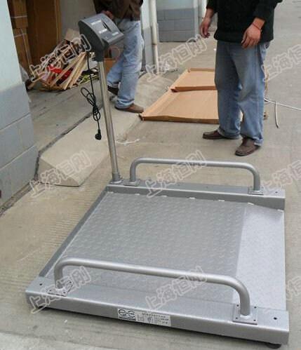 带斜坡碳钢轮椅秤